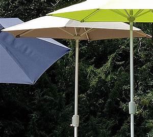 stern sonnenschirm d270 6tlg alu silb kurbelknicker art With französischer balkon mit sonnenschirm stern