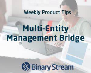 Binary Stream - Did You Know - Weekly Tips - Multi-Entity ...