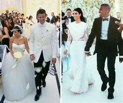 Kim Kardashian's Wedding Dresses Battle