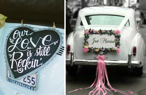 stunning wedding car decoration ideas to leave your wedding venue in style blog