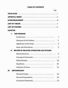 What To Write In Profile Of Resumes List Of Tables Master Thesis Proposal