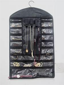 Organisateur De Bijoux : organisateur accrochant de bijoux avec 3 boucles de velcro mly h12005 organisateur accrochant ~ Teatrodelosmanantiales.com Idées de Décoration