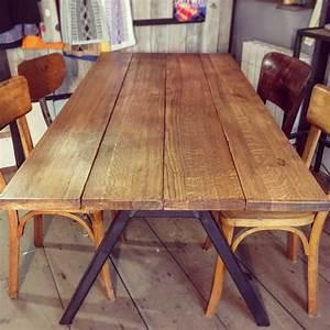 Planche De Bois Pour Bureau : enchanteur planche bois table et table basse mobilier for me galerie images alfarami ~ Teatrodelosmanantiales.com Idées de Décoration