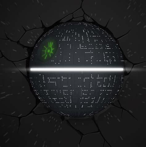 star wars death star 3d led light l star wars 3d wall lights merchoid
