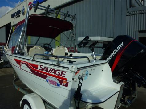 Savage Ranger Boats For Sale by Savage Ranger 480 Runabout Jv Marine Melbourne