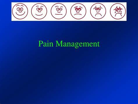 pain management powerpoint