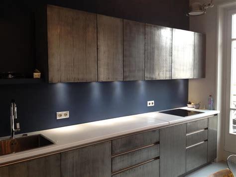 plaque d aluminium pour cuisine façade de cuisine en métal marius aurenti