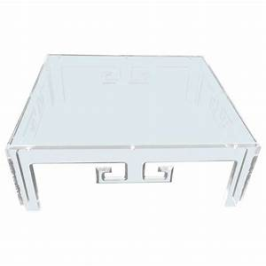 large square lucite coffee table for sale at 1stdibs With large square coffee tables for sale