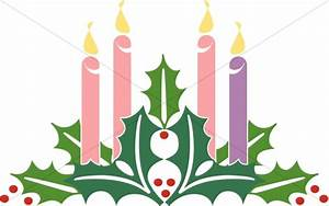 Advent Christmas Candles | Advent Clipart
