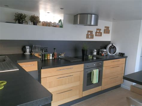 cuisine noir bois cuisine bois ikea wraste com