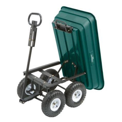 tractor supply garden cart groundwork 174 garden dump cart 600 lb capacity tractor