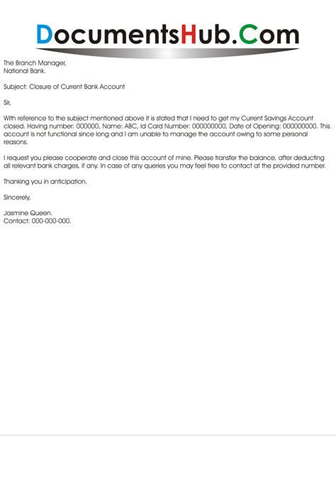 application to bank account documentshub