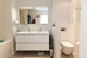 separation d39une grande salle de bain dans un appartement With separation salle de bain