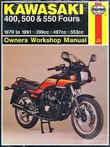 Kawasaki Z400  Zr400  Zx400  Z500  Kz500  Kz550  Gpz550  U0026 Zx550 1979