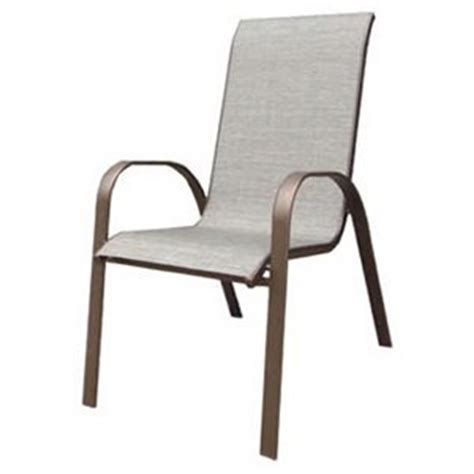 Sling Back Stackable Patio Chairs by True Value Woodfield Patio Collection Sling Stacking