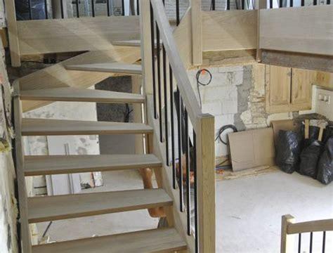 escalier 2 4 tournant ls charpentes
