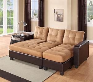 2502 sectional sofa set in dark brown bi cast beige for Dark beige sectional sofa