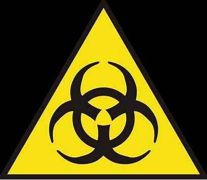 Biologico Riesgo Pictograma Advertencia Flickr Coordina Sign