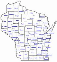 Best Wisconsin County Map - ideas and images on Bing | Find what you ...