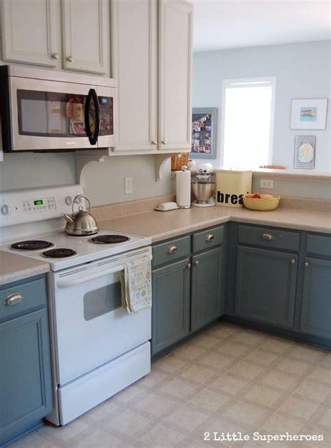 blue and white kitchen cabinets boring to blue kitchen makeover hometalk