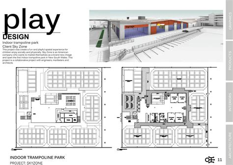 floor plans designer skyzone indoor troline park ivan lo portfolio the loop