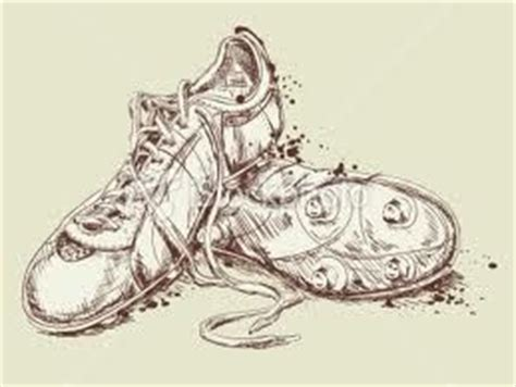 Football Cleats Drawing at GetDrawings | Free download