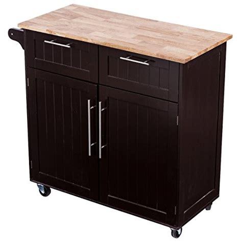 kitchen island cart with breakfast bar giantex rolling kitchen cart on wheels cabinet storage