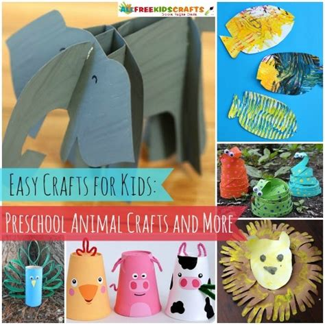 75 preschool animal crafts and more allfreekidscrafts 576 | easy crafts for kids preschool animal crafts more Large500 ID 869770