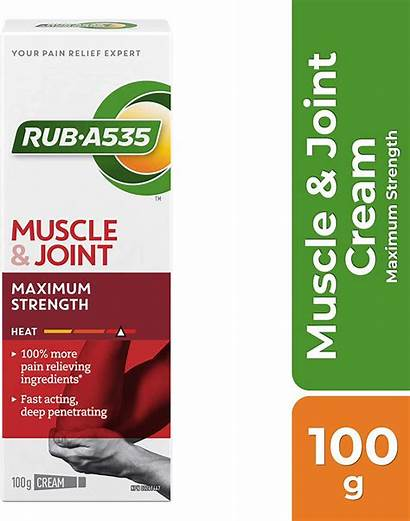 Cream Rub Pain A535 Muscle Relief Heat