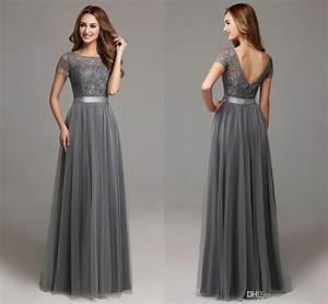 long grey dresses oasis amor fashion With long grey dress for wedding