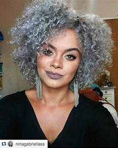 10 Photos To Show How Amazing Grey Natural Hair Is