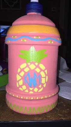 chug jug  spring break  crafts decorated water