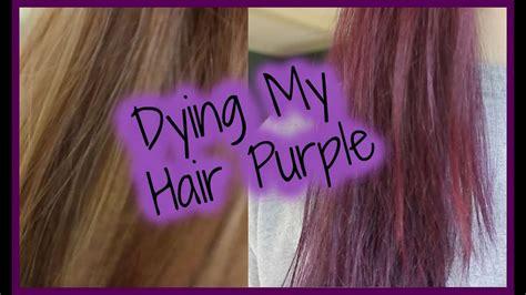 color purple reviews jerome punky colour plum review purple hair