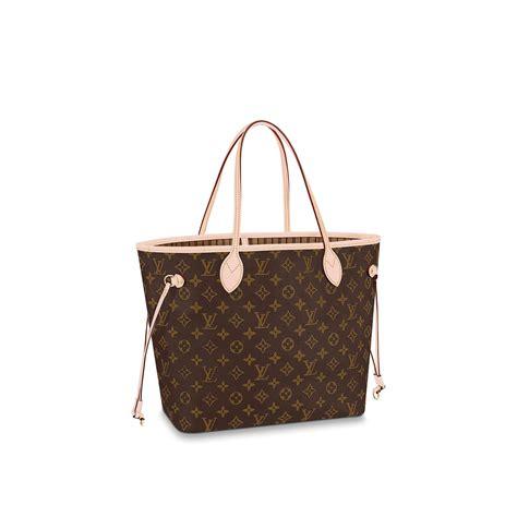 neverfmm nm mng beige monogram canvas handbags louis