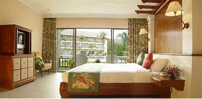 Hotel Window Bed Interior Comfort Wallpapers Curtains