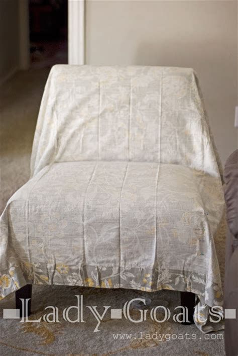 Slipper Chair Slipcover by Goats Diy Slipper Chair Slipcover Without A Template