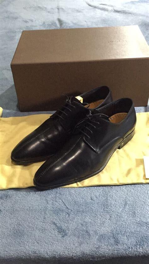louis vuitton mens dress shoes size  black suit leather