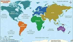 Continentes del Mundo, Mundial Continentes