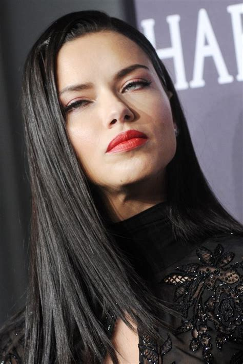 Adriana Lima's Hairstyles & Hair Colors   Steal Her Style