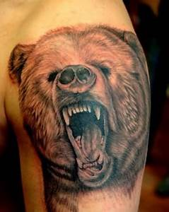 Grizzly Bear Tattoo Ideas and Grizzly Bear Tattoo Designs ...