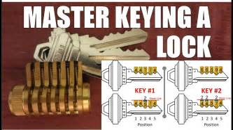 How To Master Rekey A Schlage Deadbolt Changing The Combination Of A Pin Tumbler Lock Using Two