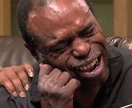 Black Person Crying