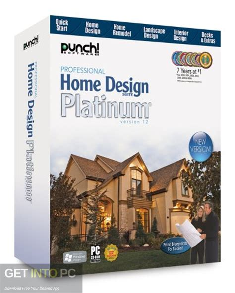 Professional Home Design Free by Punch Professional Home Design Suite Platinum