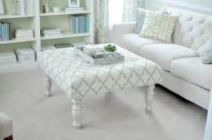diy padded ottoman coffee table