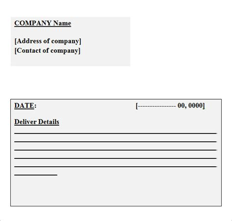 business receipt templates  samples examples