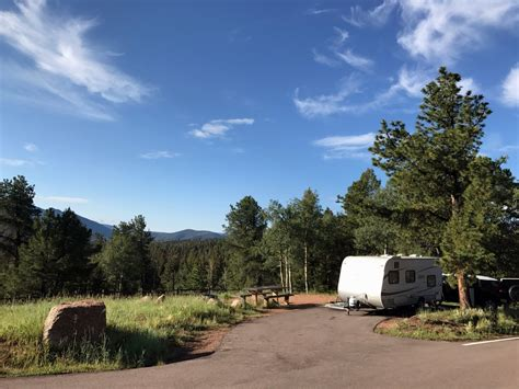 cground review mueller state park in divide co