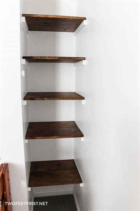 build  simple wall  wall shelves