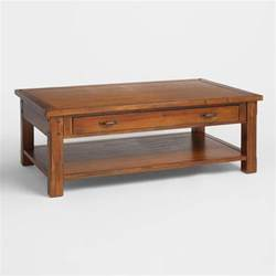 table decor madera coffee table world market
