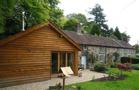 Timber Extension To Stone Cottage  Geoff Sellick