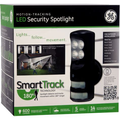 GE Motion Tracking LED Security Spotlight